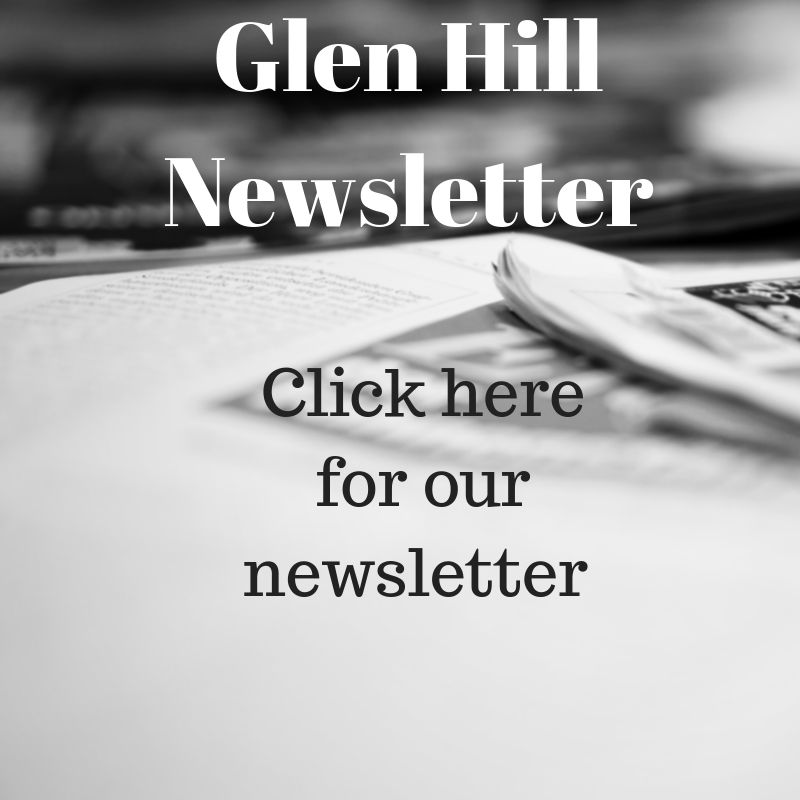 Glen Hill November Newsletter Announcement