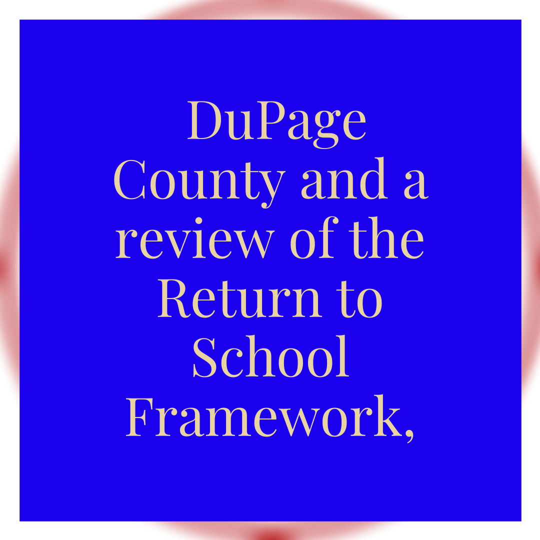 Weekly review of the Return to School Framework