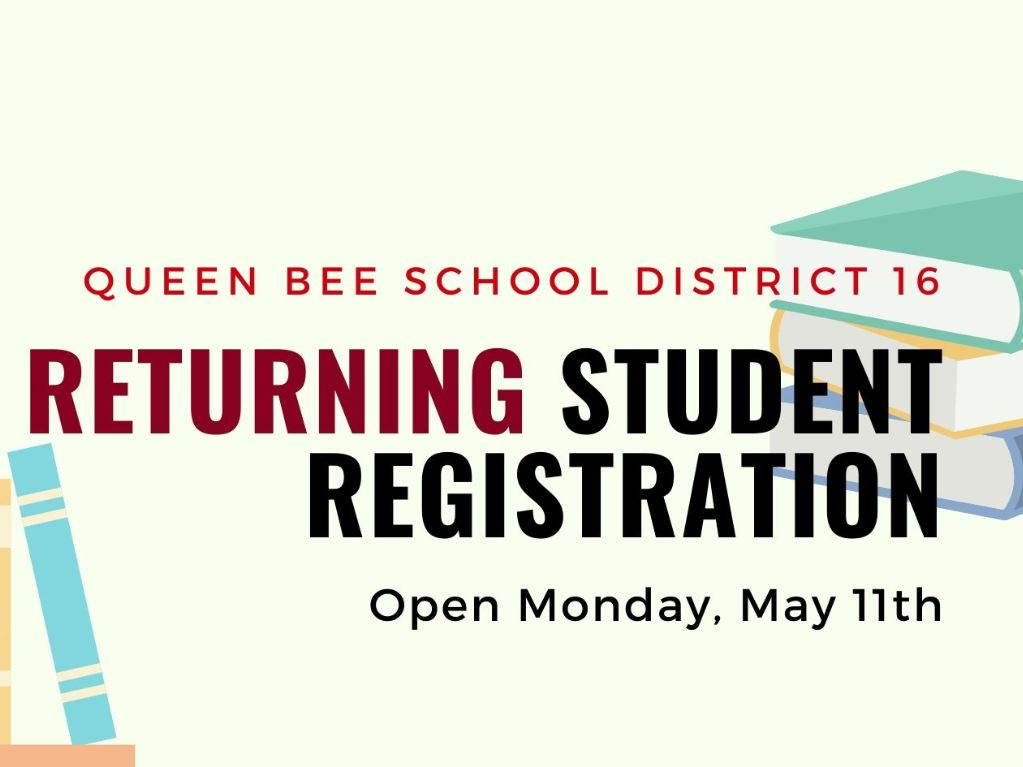 Returning Student Registration fy 2020-2021