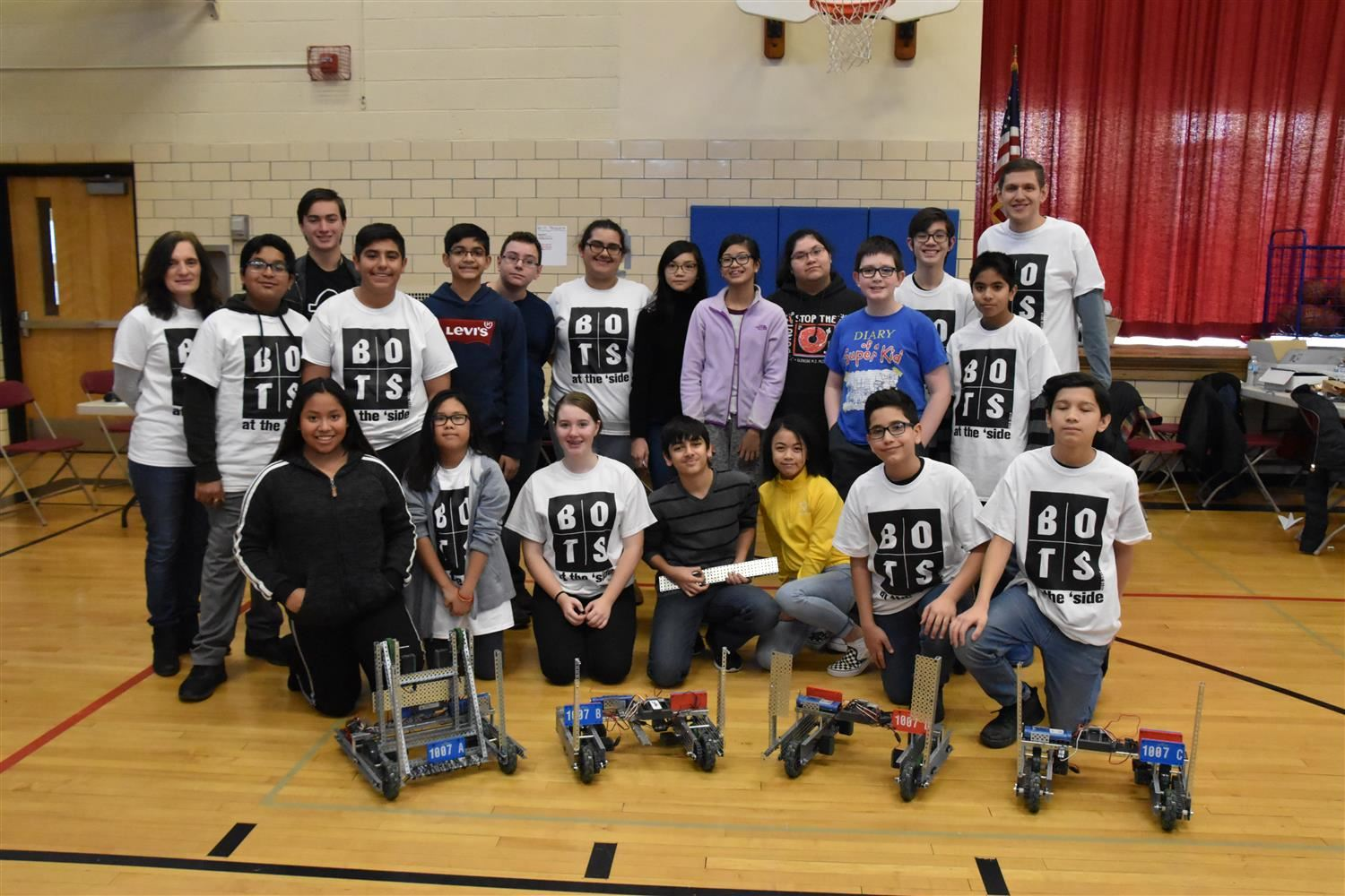 Robotics Team Takes 3rd Place in Competition